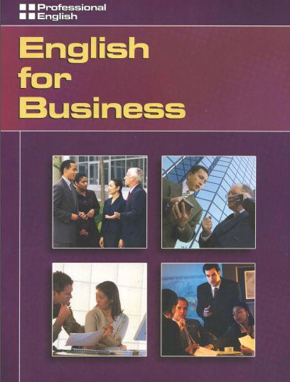 English for Business Professional English Book PDF Download