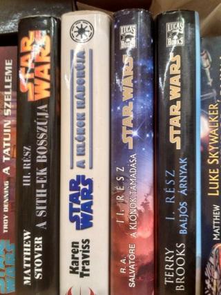 Demeterné D. Viktória Star Wars könyvei