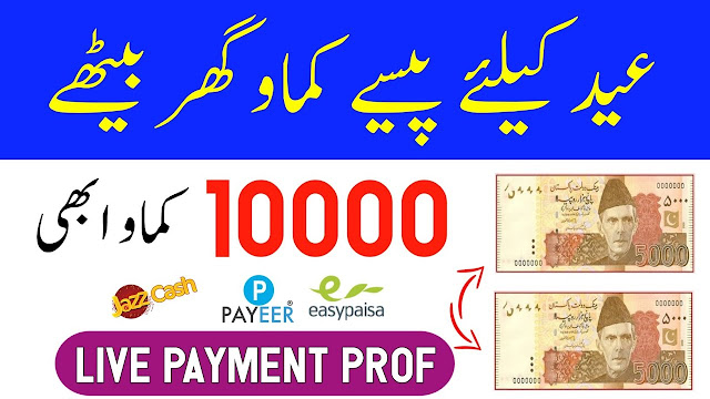 Earn 10,000 Daily By Watching Ads Live Payment Proof | How To Earn Money Online At Home