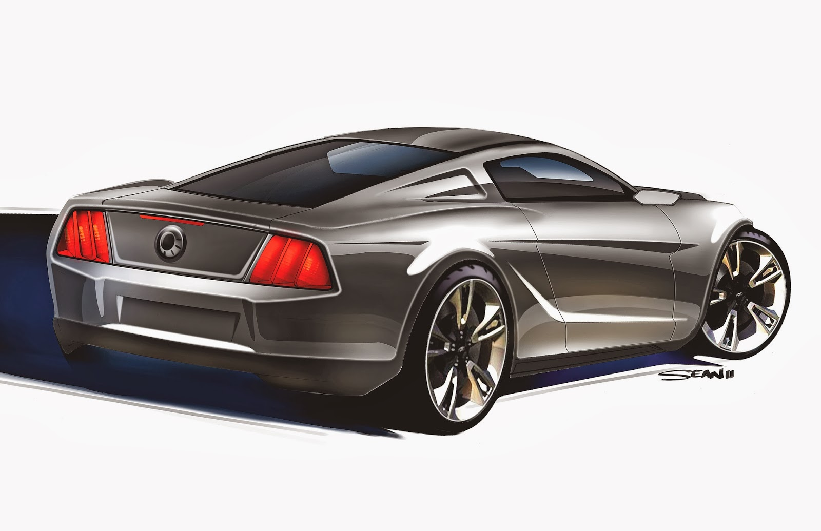 new cars son 2015 mustang concept