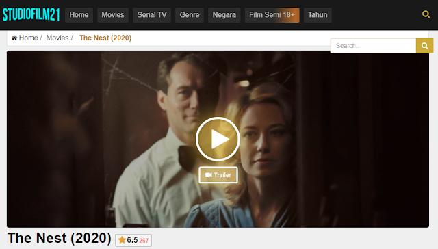 Nonton Film The Nest (2020)  Sub Indo Full Movie Terbaru 2021