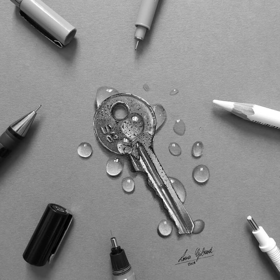 07-Key-and-water-drops-Louis-Gibiard-www-designstack-co