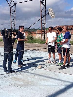 Tenistas de Camocim de São Félix serão destaques do Esporte Espetacular, da Rede Globo