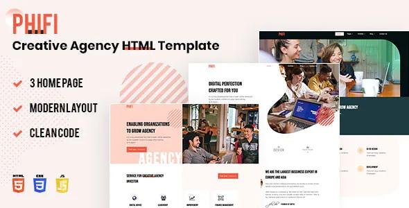 Creative Agency HTML Template
