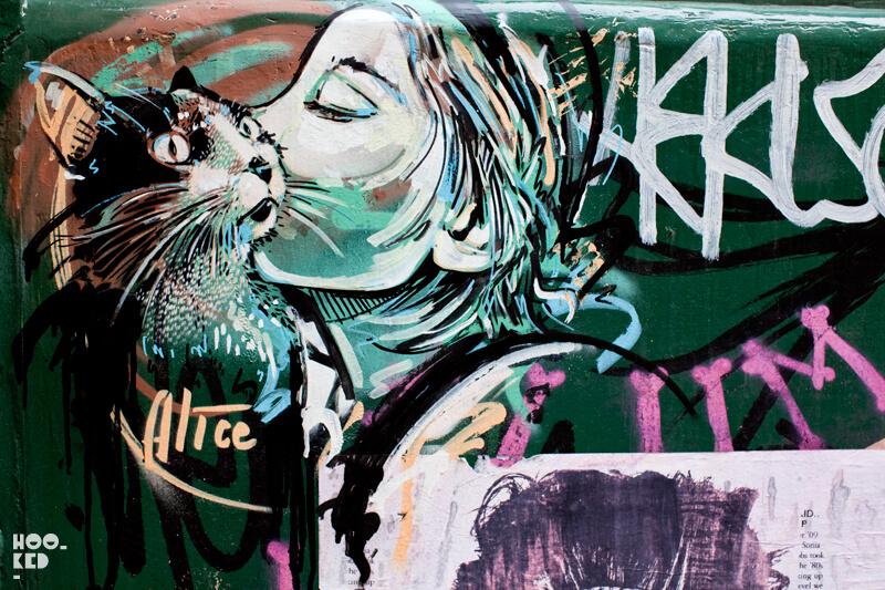 Alice Pasquini - Shoreditch Street Art , London
