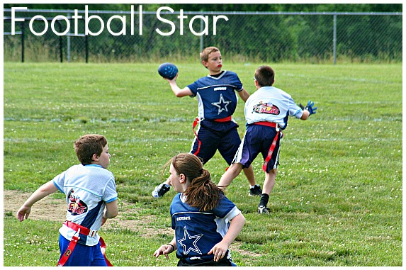 how to play flag football for kids