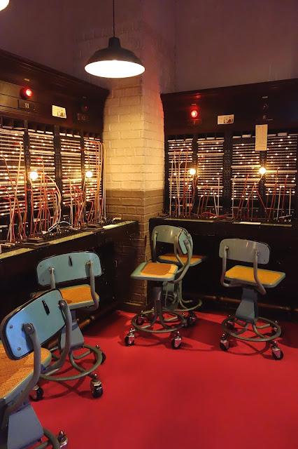 B. Altman Department Store, switchboard, set design
