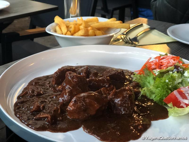 o que comer na Bélgica