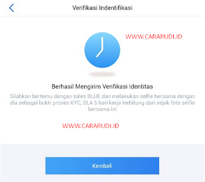 cara upgrade akun bluepay