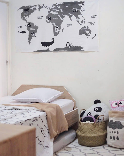 Desain Kamar Tidur Anak Remaja Perempuan Minimalis Sederhana