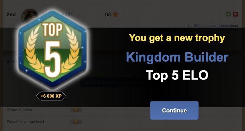 第一次拿到 Top 5 的成就