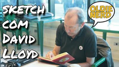 david lloyd, sketch, desenhando, rascunho, quadrinhos