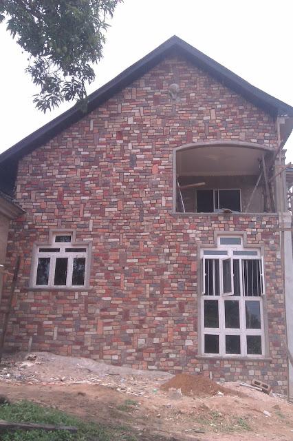 exterior cobble stones in nigeria