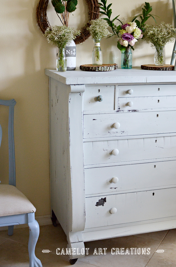 empire dresser milk paint