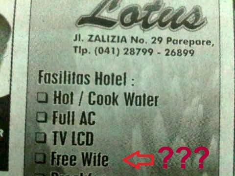 iklan hotel salah eja-Free Hotel Facilities