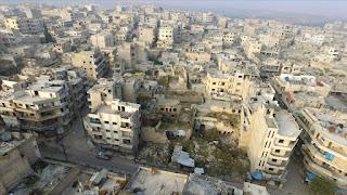النظام السوري وروسيا يحوّلان معرة النعمان بإدلب إلى مدينة أشباح (صور+فيديو)