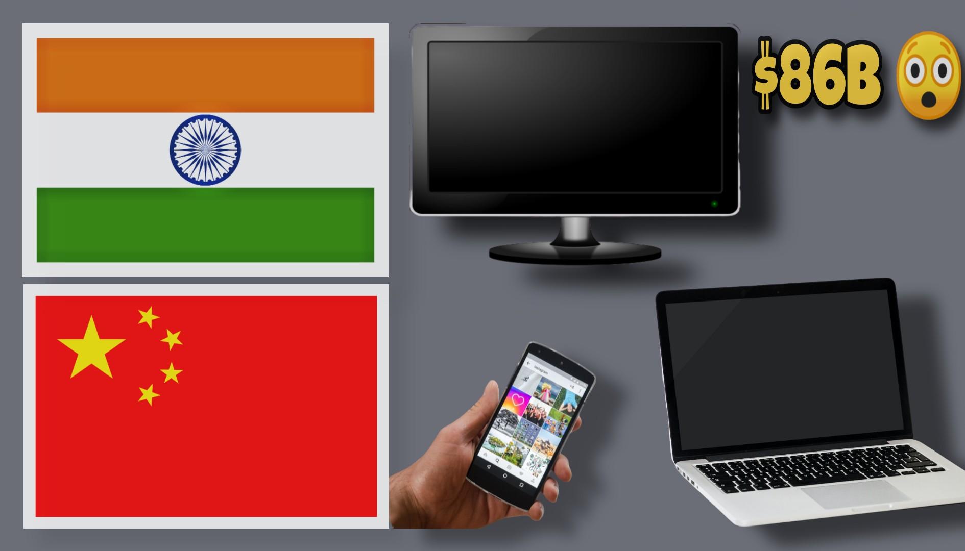 Boycott Chinese products, Boycott Chinese products in India