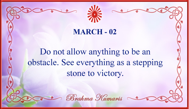 Thought For The Day March 2