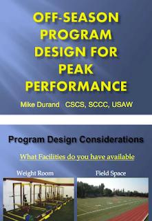 OFF-SEASON PROGRAM DESIGN FOR PEAK PERFORMANCE PDF