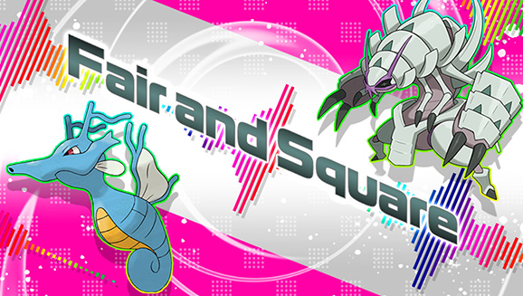 Competição Fair and Square Pokémon Sword Shield