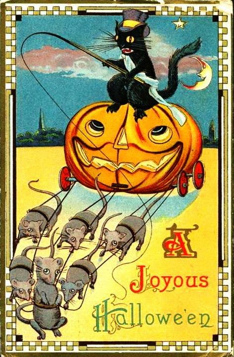 Vintage Halloween Postcards C1910s Vintage Everyday