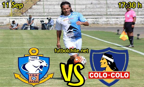 Ver stream hd youtube facebook movil android ios iphone table ipad windows mac linux resultado en vivo, online: Deportes Antofagasta vs Colo Colo