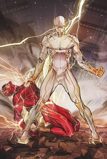 Godspeed es un velocista enemigo de Flash