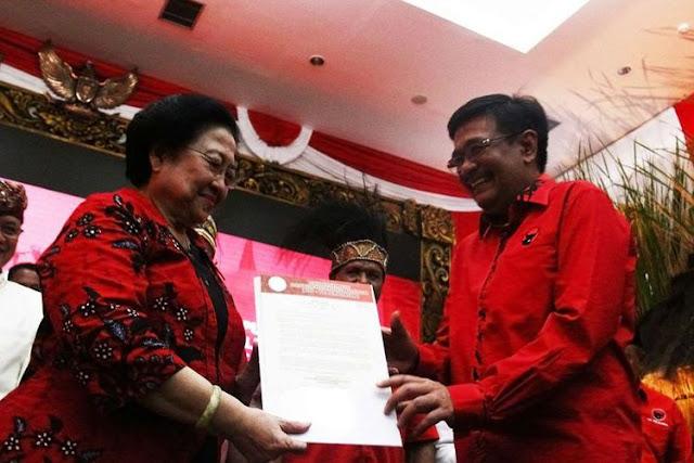 PDI-P Resmi Usung Djarot Saiful Hidayat dan Sihar Sitorus Untuk Pilkada Sumut