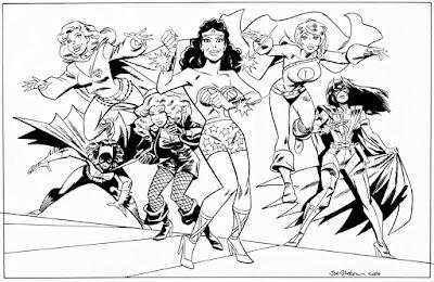 Wonder Woman and Gal Pals by Joe Stanton