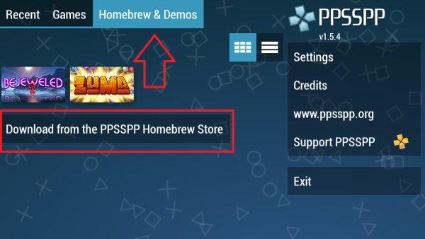 شرح تشغيل العاب  بلاي ستيشن PSP على اندرويد - محاكي PPSSPP