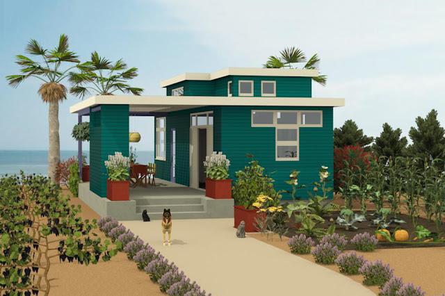 15 Desain Eksterior Rumah Sederhana