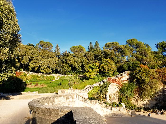Jardins de la Fontaine Nîmes et Look Automne 05