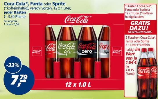 Coca cola 1 liter angebot