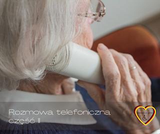 Rozmowa telefonicza - część 2. Przydatne słownictwo dla opiekunek osób starszych pracujących w Niemczech