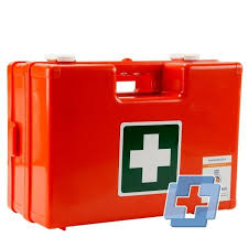 Therefore, laboratory workers should receive a basic practical training in first aid, with particular attention being paid to the types of accidents