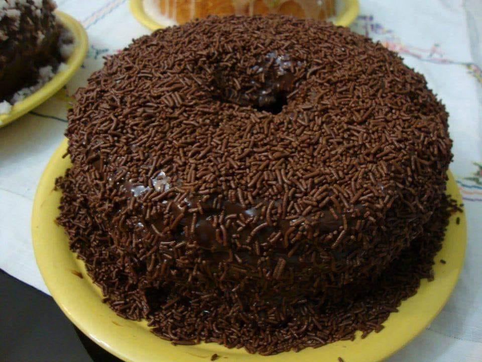 Bolo de Chocolate - Delicioso