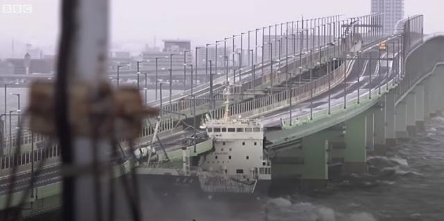 Japón golpeado por la tormenta más fuerte de 25 años | Tifón Jebi
