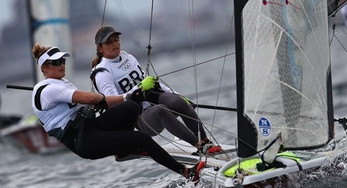 Martine Grael e Kahena Kunze são bicampeãs olímpicas na Vela