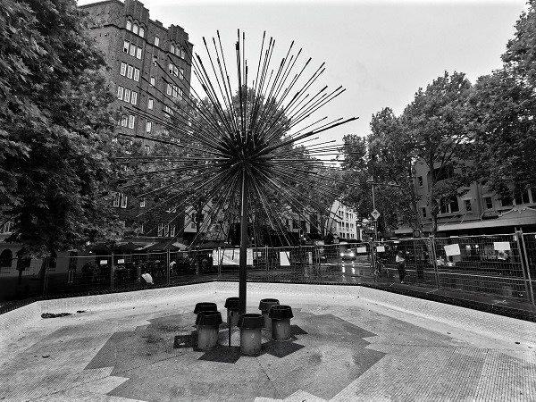 The El Alamein Fountain by Robert Woodward