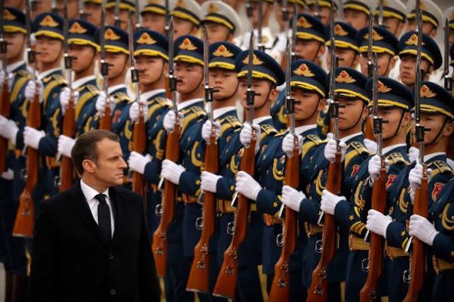 Τα «μηνύματα» Μακρόν για το ΝΑΤΟ με το βλέμμα σε Τραμπ και Ερντογάν