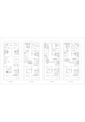 25 Gaj Makan Ka Naksha (25 Gaj House Map Design)   25 गज मकान का नक्शा - 5