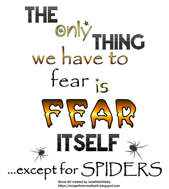 Clicks And Words: Escape From Reality Blog: FTU Halloween Word Art By Debby