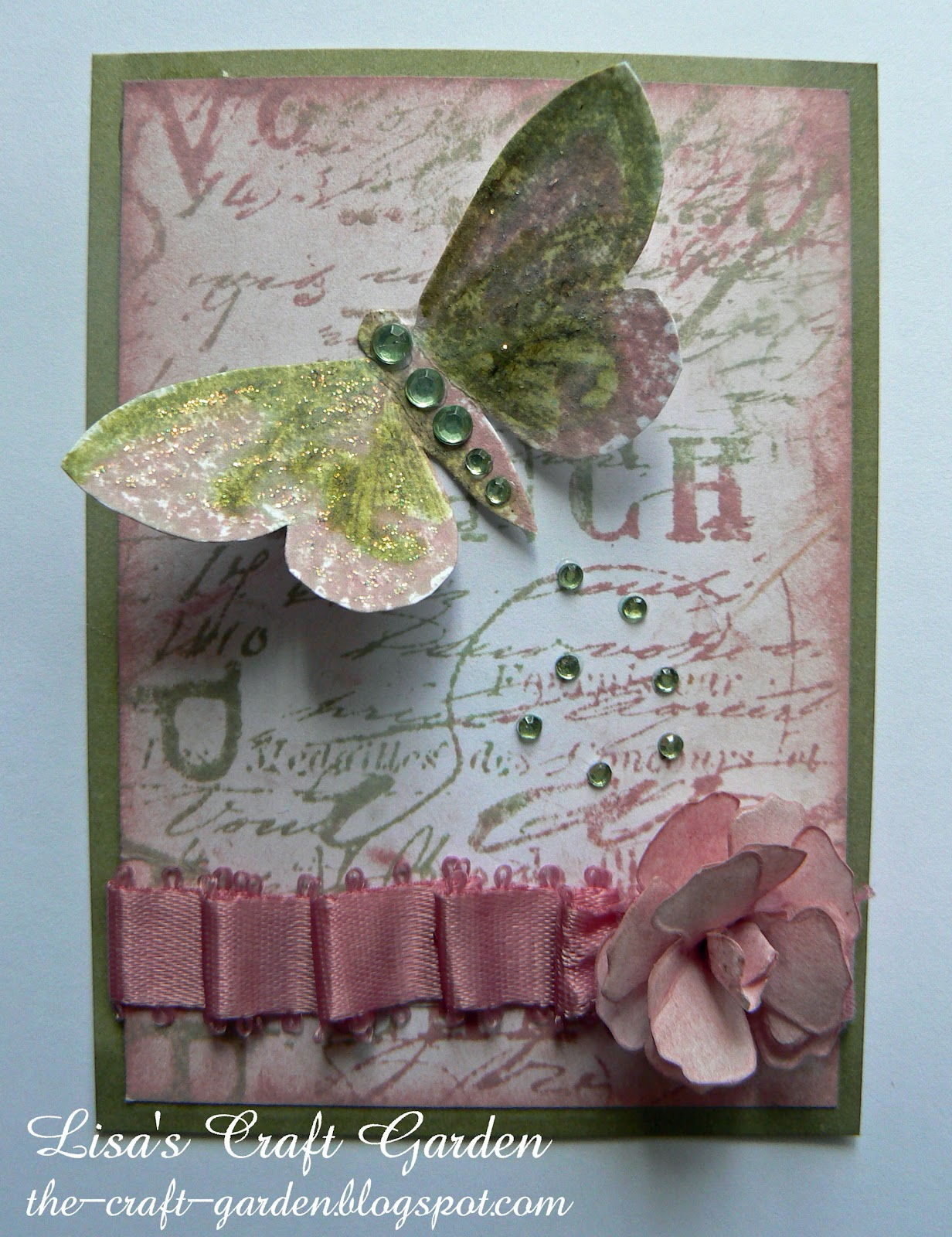 Lisa's Craft Garden: Shabby/Chic ATC