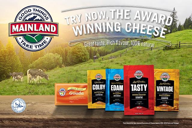 Mainland: Natural Cheese Made The New Zealand Way