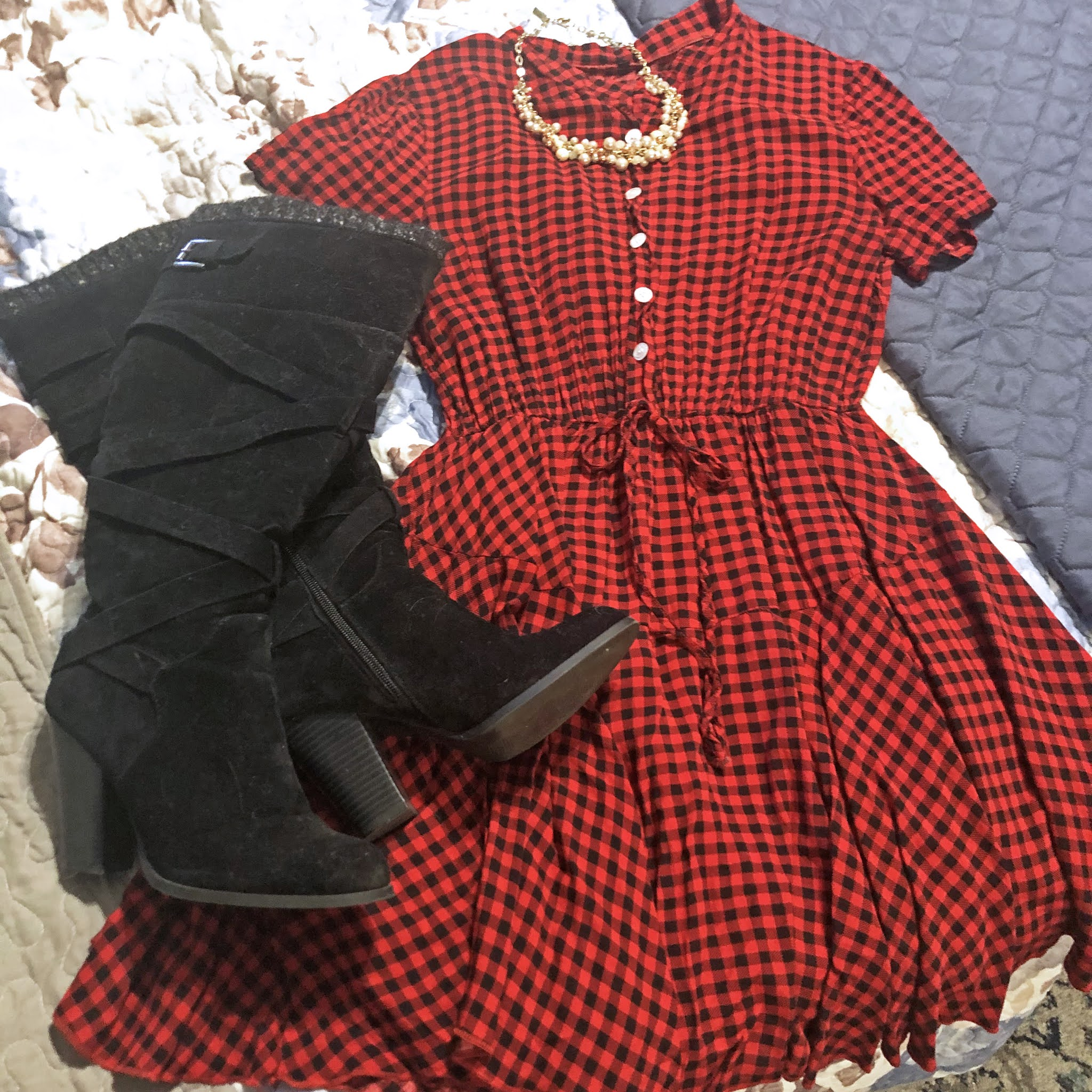 red_black_checked_dress