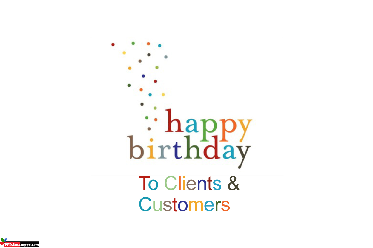happy birthday wishes for client