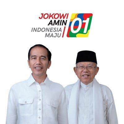 calon Presiden RI Nomor Urut 1 Jokowi- Ma'ruf