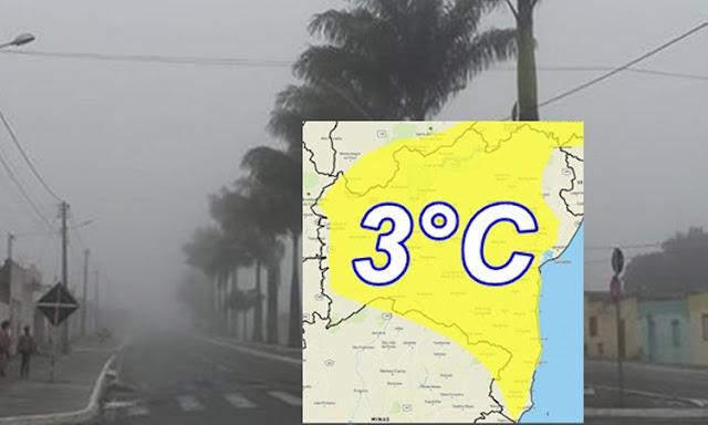 INMET emite alerta meteorológico para baixa de temperatura na Bahia