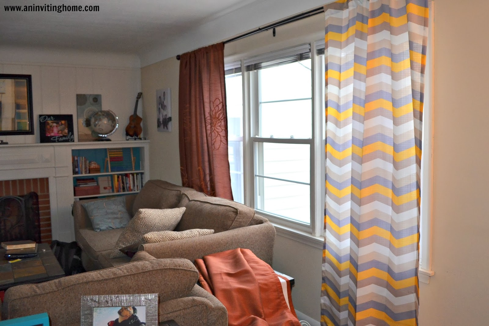 An Inviting Home: The Curtain Process