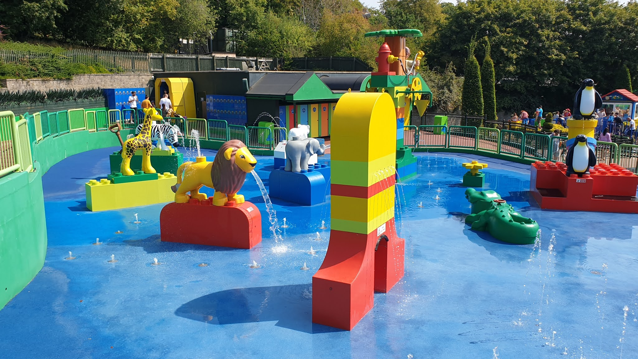 splash park legoland empty